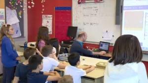 Kids Code Jeunesse at Margaret Manson Elementary.