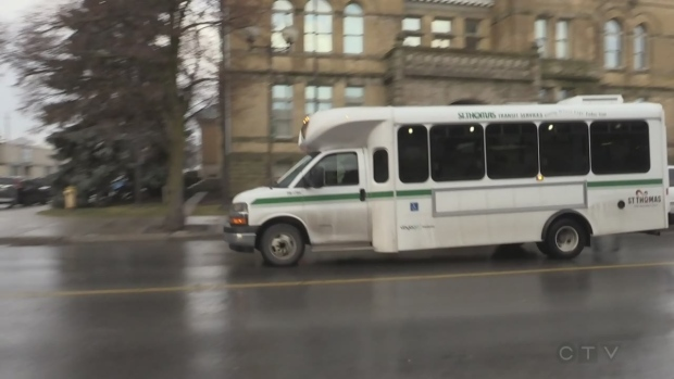 Transit strategic plan details to be unveiled in St. Thomas - CTV News London