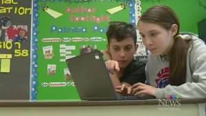 Kids learn to code at elementary schools