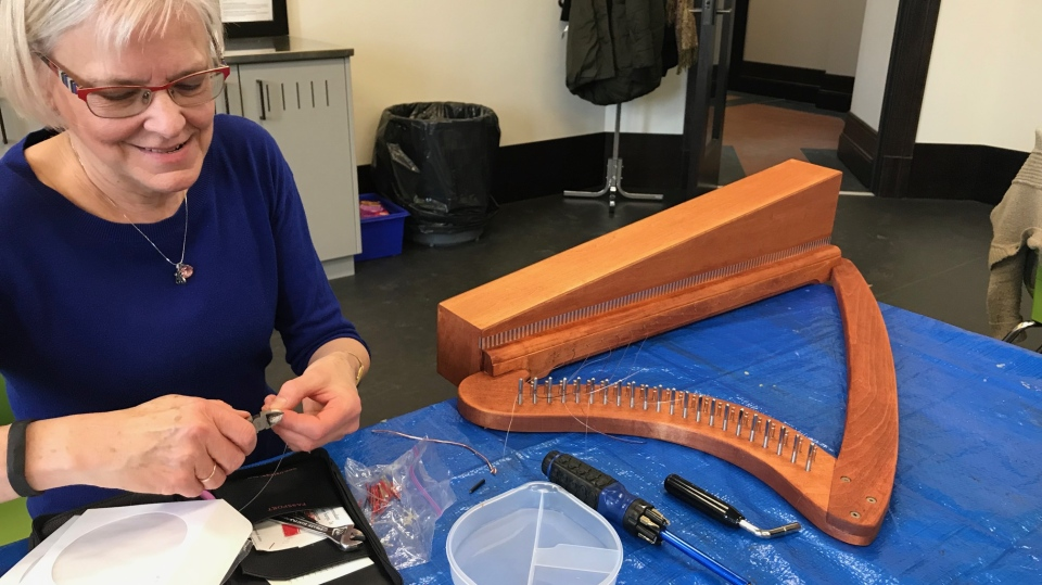 Handmade harp workshop hits all the right notes | CTV News