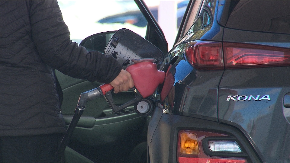 Soaring gas prices on minds of many Canadians heading into