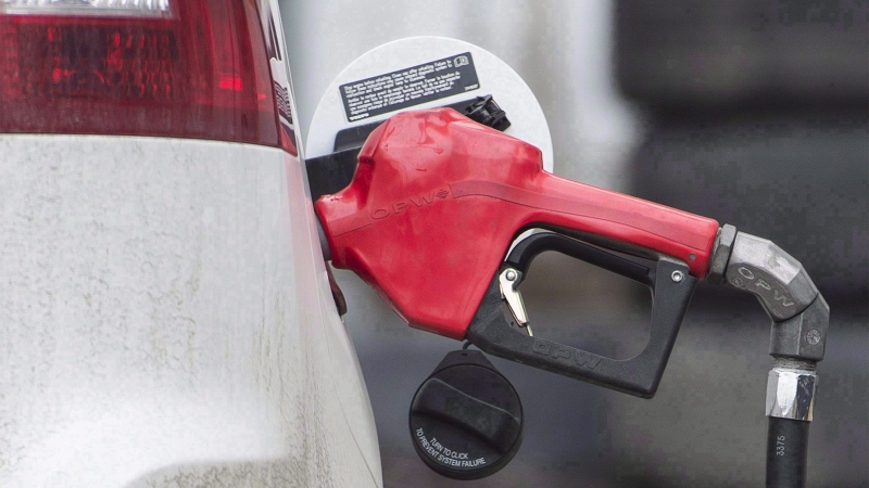 The government says $78 million will be returned to taxpayers through a reduction in gasoline and diesel taxes, and $36 million will be allotted to the Climate Change Fund. (THE CANADIAN PRESS)
