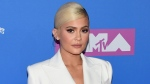 File photo: Monday, Aug. 20, 2018. Kylie Jenner arrives at the MTV Video Music Awards at Radio City Music Hall in New York. (Photo by Evan Agostini/Invision/AP)