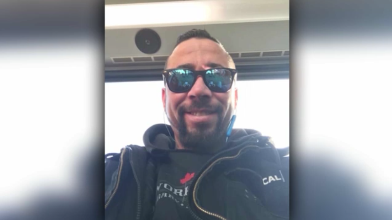 RCMP say Timothy Benedict Campbell, a 33-year-old Calgary man, was found alive Monday evening.