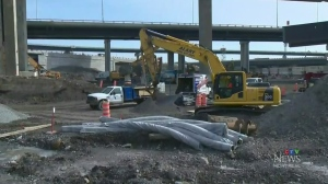 Demolition forces early Turcot closures