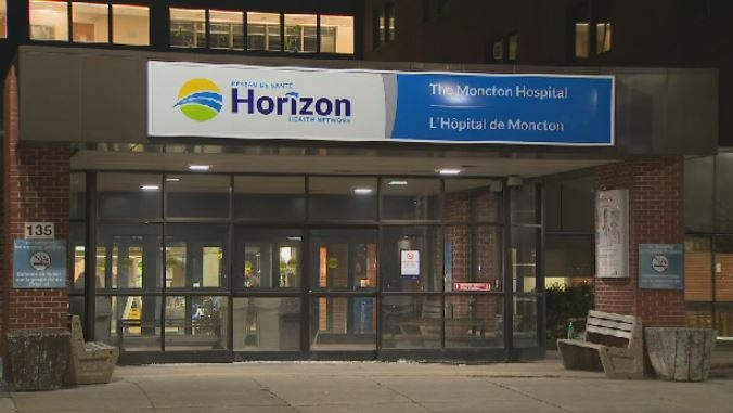 The Moncton Hospital is seen in this undated image.