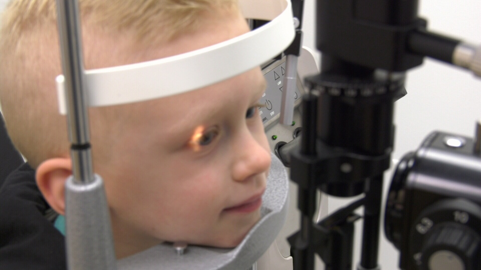 Vision problems with children