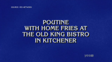 A Jeopardy! clue