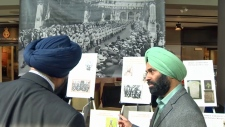 The Military Museum - Sikh military display
