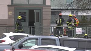 Brechin elementary fire
