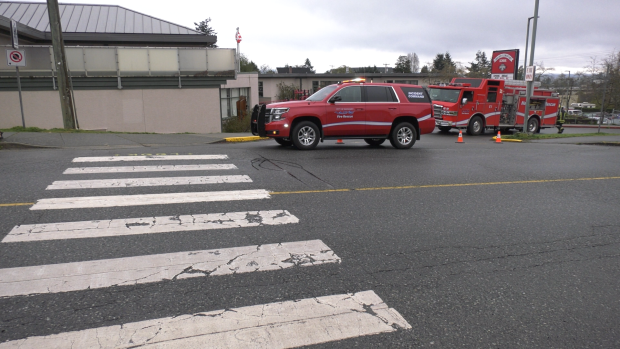 Mounties probe string of fires set at Nanaimo elementary school