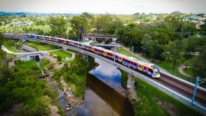 New Generation Rollingstock (NGR) train for Queensland, Australia. (Bombardier)