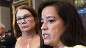 Jane Philpott and Jody Wilson-Raybould