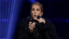 Celine Dion announces Courage World Tour, set to kick-off on September 18, 2019, during a special live event at The Theatre at Ace Hotel on Wednesday, April 3, 2019, in Los Angeles. (Photo by Richard Shotwell/Invision/AP)
