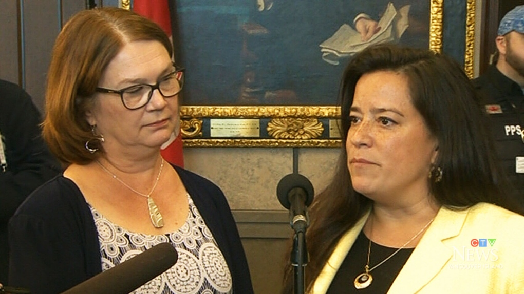 Brownface photo, SNC-Lavalin: At Wilson-Raybould rally, Trudeau looms large