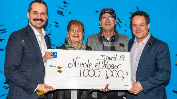 Canadian couple finds lost ticket to become last-minute lottery millionaires