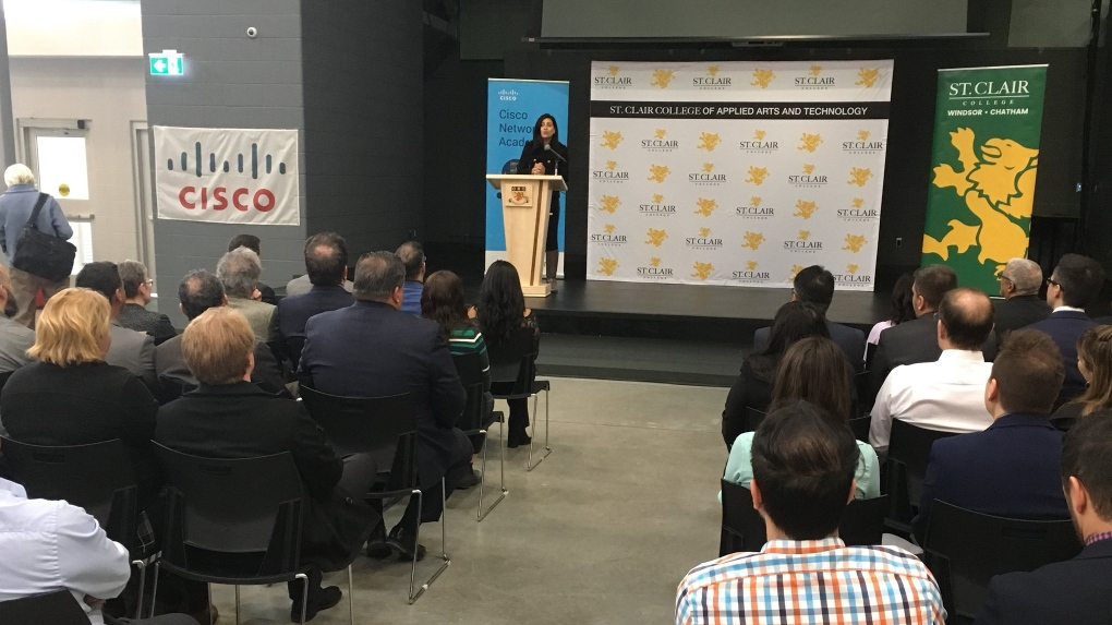 St Clair College Tops Student Enrolment In Networking Academy Program Ctv News
