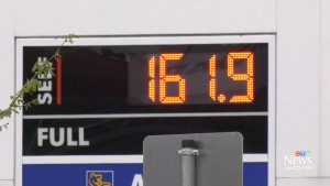 Gas prices tie all-time high in Vancouver