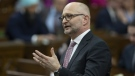 Minister of Justice and Attorney General of Canada David Lametti responds to a question during Question Period in the House of Commons Thursday April 4, 2019 in Ottawa. THE CANADIAN PRESS/Adrian Wyld