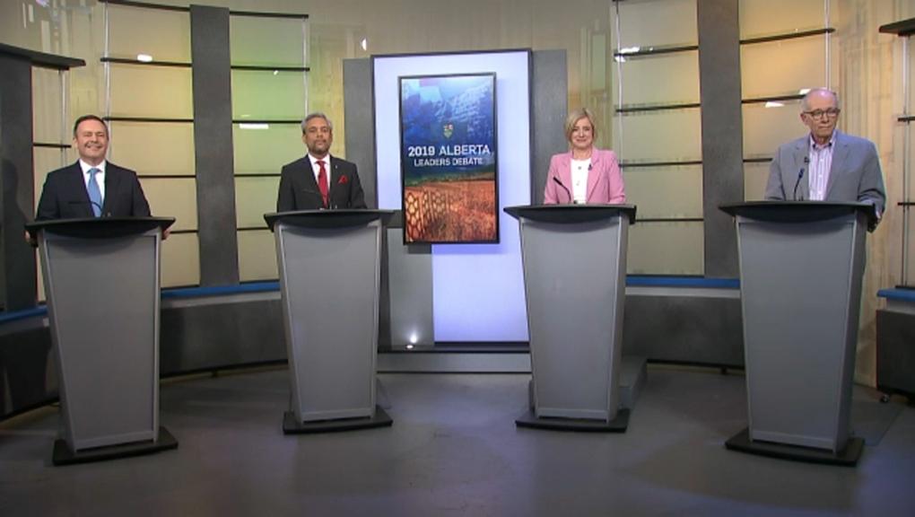 Party leaders to face off in debate in Edmonton