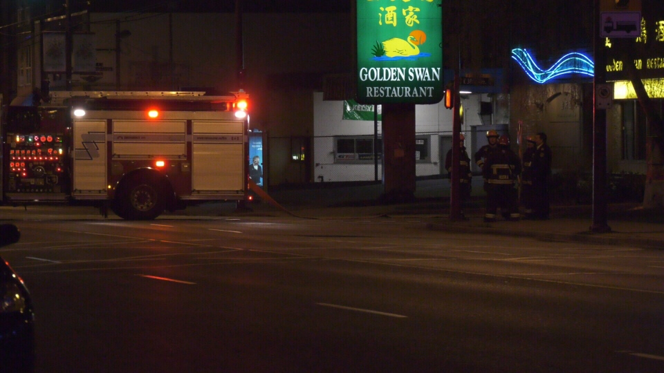 Suspected dynamite in East Vancouver