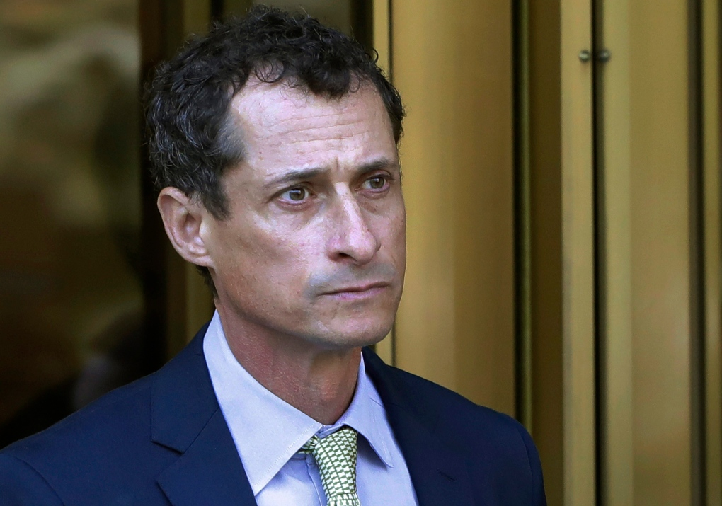 Ex-rep. Anthony Weiner ordered to register as a sex offender