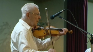 99 year old fiddler still playing strong