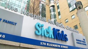 The Hospital for Sick Children in Toronto is seen in this undated file photo. (CTV News Toronto)