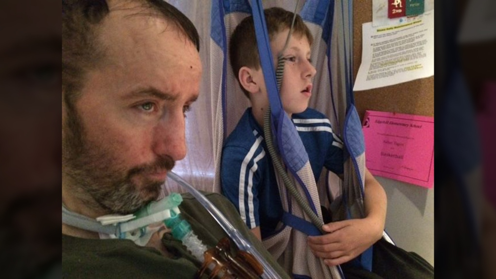 'We need a public outcry': B.C. father with ALS ends life after struggle to stay at home