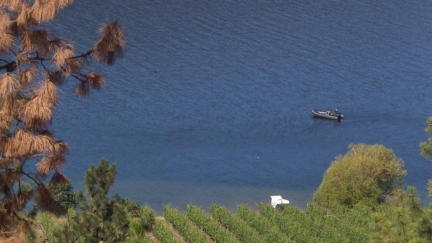 Alberta man presumed drowned in Okanagan Lake, RCMP recovery team called