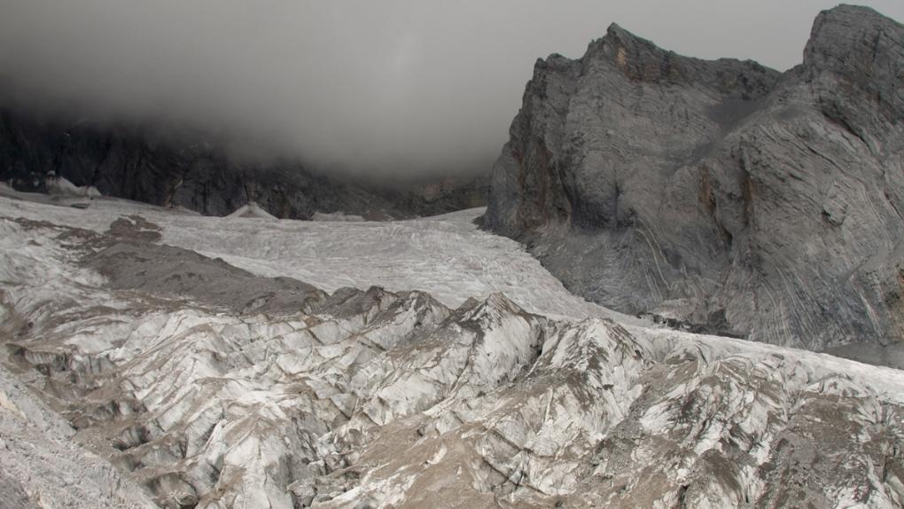 The Baishui Glacier No.1 in 2018