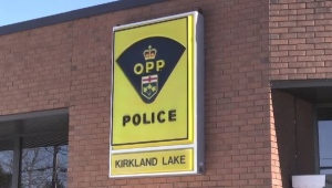 Kirkland Lake OPP (Drew McMillin/CTV Northern Ontario)