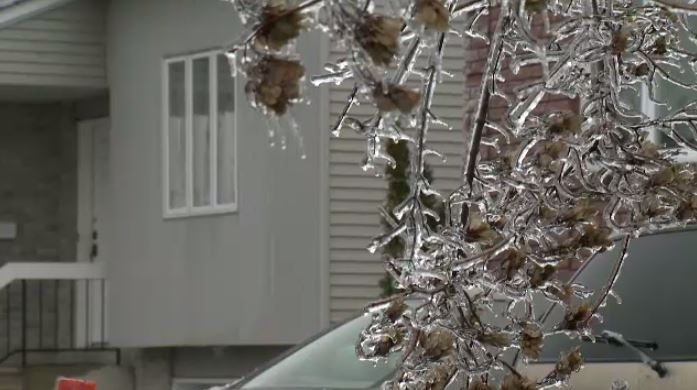 Freezing rain in Montreal