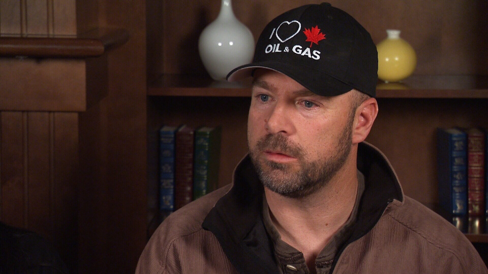Tim Cameron, an oil industry consultant, says that he's only had six or seven days of work since early November.