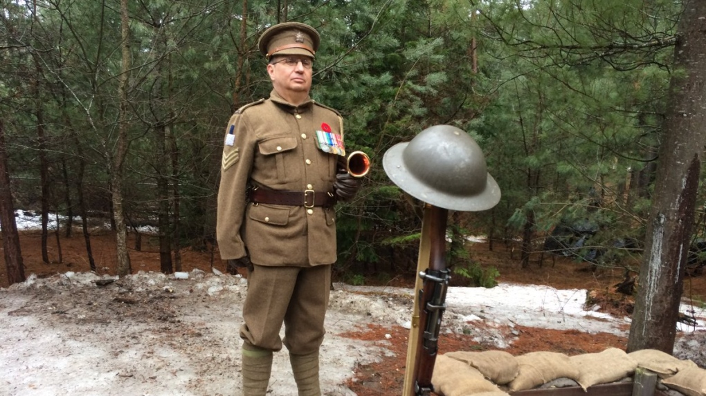 Base Borden marks the 102nd anniversary of the Battle of Vimy Ridge