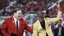 Former NFL wide receiver Terrell Owens
