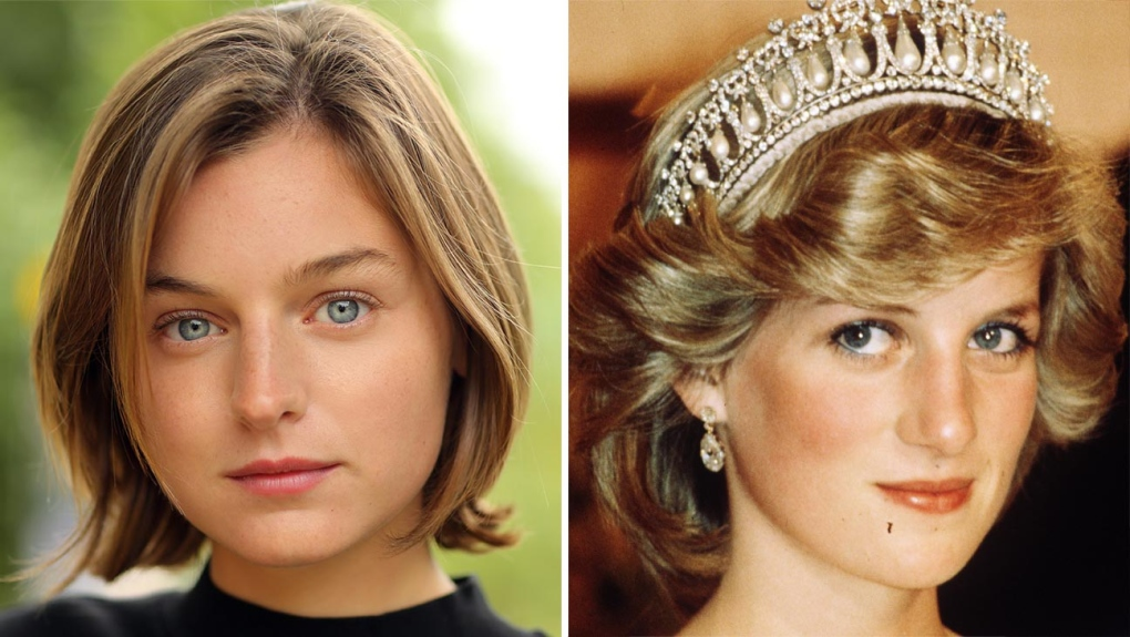 Netflix Casts Newcomer As Princess Diana In The Crown Ctv News