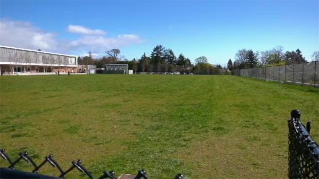 sports field Oak Bay