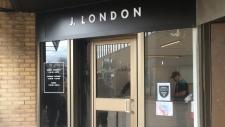 London pot shop