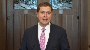 Andrew Scheer addresses lawsuit threat from PM