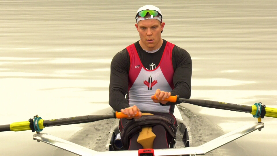 Paralympic hopeful Jeremy Hall is searching for a female partner in order to compete at the 2020 Tokyo Games. April 9, 2019. (CTV Vancouver Island)