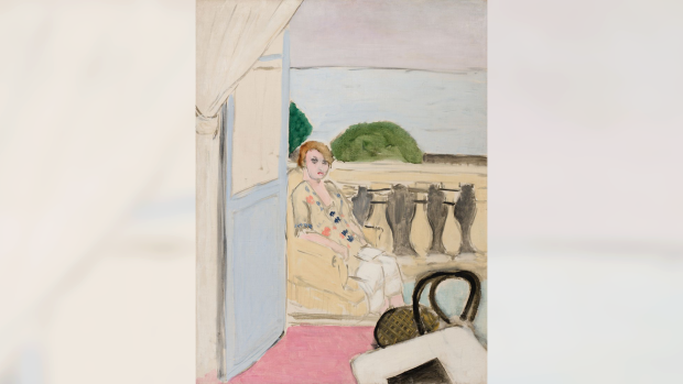 Matisse painting in Vancouver