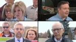 Alberta party leaders