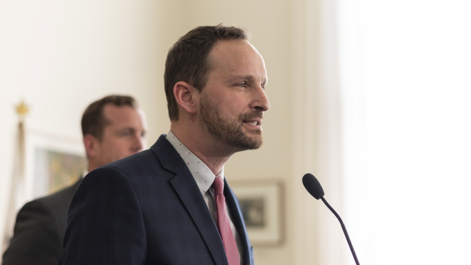 Opposition NDP Leader Ryan Meili