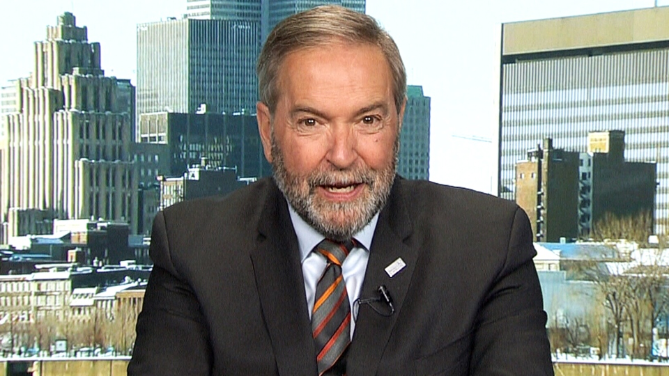 Former federal NDP leader Tom Mulcair thinks that Rachel Notley will not serve another term as Alberta's NDP premier.