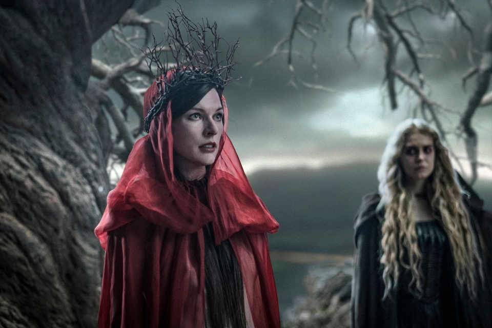 This image released by Lionsgate shows Milla Jovovich in a scene from