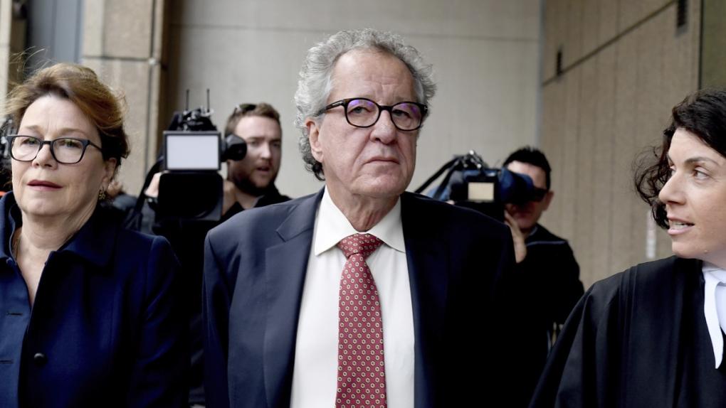 Geoffrey Rush awarded $2.7 million in Sydney defamation case