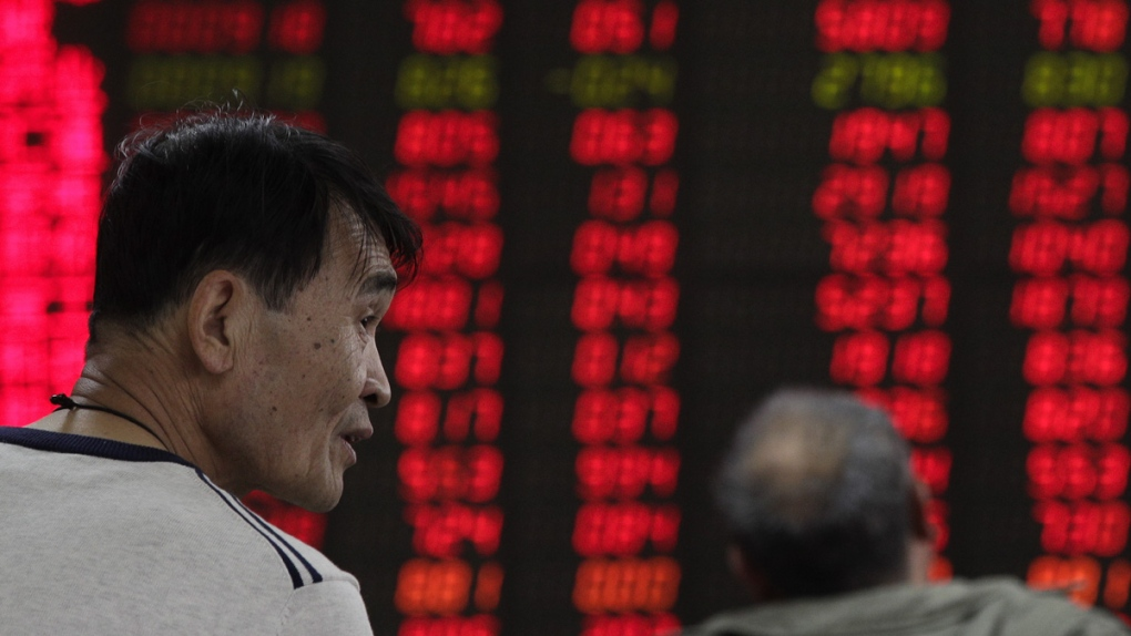 Monitoring stock prices in Beijing