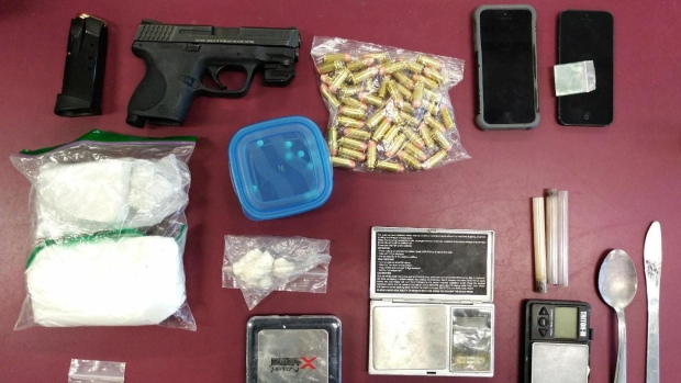 Weapons and drugs seized following vehicle stop in North Bay | CTV