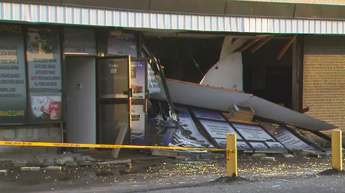 Scarborough auto body shop explosion